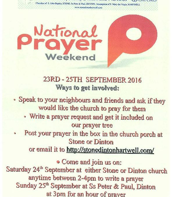 National Weekend of Prayer